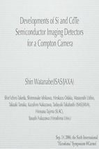 Developments of si and cdte  semiconductor imaging detectors for a compton camera