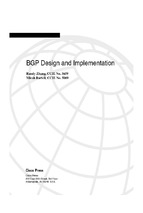 BGP Design and Implementation (Randy Zhang, Micah Bartell)