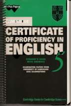 Cambridge certificate of proficiency in english 5 (có link tải file nghe ở trang cuối)
