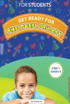 Get ready for the TOEFL Primary Grade 4 For students