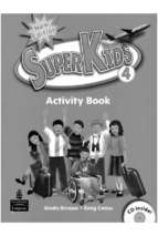 superkid 4 Activity book 4
