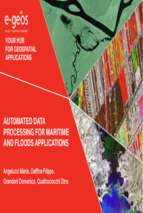Automated data processing for maritime and floods applications