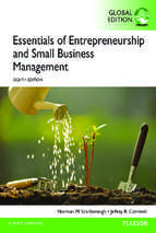 Scarborough norman m. et.al essentials of entrepreneurship and small business management, global edition