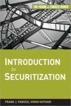 Introduction to securitization book by frank j. fabozzi