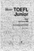 Master toefl junior basic reading