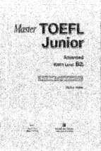 Master toefl junior advance reading comprehension