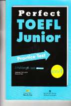 Perfect toefl junior practice test 1