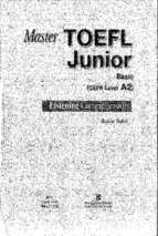 Master toefl junior basic listening
