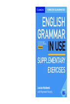 English grammar in use intermediate 2019 5th edition supplementary exercises