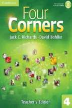 Four corners 4 teacher book