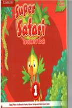 Super safari 1 teacher book