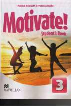 Motivate 3 student book