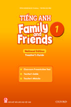 Family and friends national edition grade 1 teacher's guide