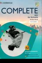 Complete key for schools teachers book 2nd edition (2020)