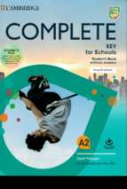 Complete key for schools student book without answers 2nd edition (2020)
