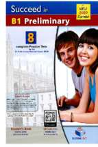 Succeed in cambridge english b1 preliminary 2020 students book