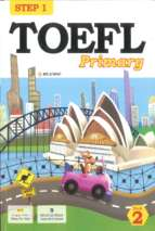 Step 1 of toefl primary book 2
