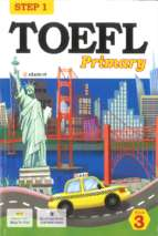 Step 1 of toefl primary book 3
