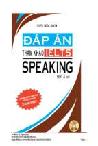 Ielts speaking by ngoc bach ver 6.4
